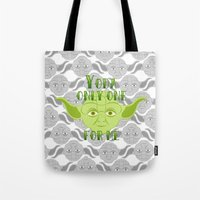 Star Wars Yoda Only One … Tote Bag