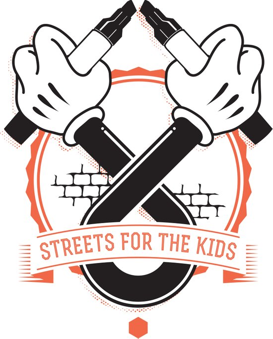 Streets For The Kids Art Print
