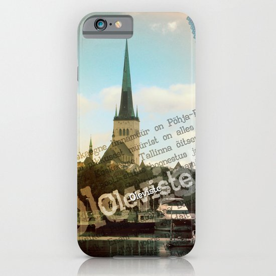 Northern city landscape. iPhone & iPod Case