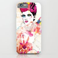 iPhone & iPod Case featuring La Queen De Dimanche / The Queen of Sunday by Olive Primo Design + Illustration