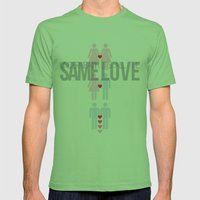 Same Love, Macklemore (I… Mens Fitted Tee Grass SMALL