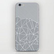 Ab Linear Grey iPhone & iPod Skin