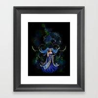 Sona Framed Art Print