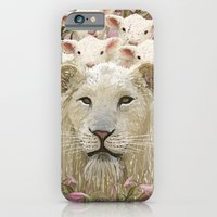 Lambs Led By A Lion iPhone 6 Slim Case