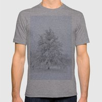 Winter Wonderland Mens Fitted Tee Athletic Grey SMALL