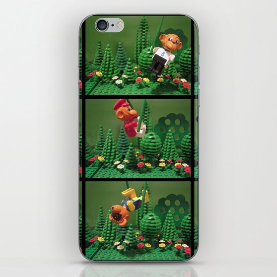 we love the jungle iPhone & iPod Skin