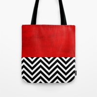 Fire, walk with me.  Tote Bag