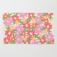 Floral Party Rug