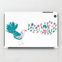 Birdy Song iPad Case