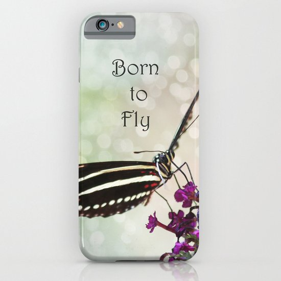 Born to Fly iPhone & iPod Case
