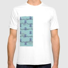 Octopus's garden Mens Fitted Tee SMALL White
