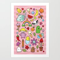 Everything is going to be OK #2 Art Print