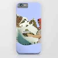 iPhone & iPod Case featuring Exploring by Alicia Ortiz