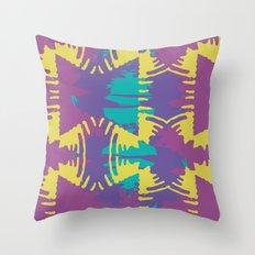 collide Throw Pillow