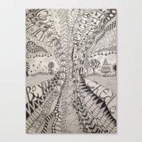 'Tangled Tree Canvas Print