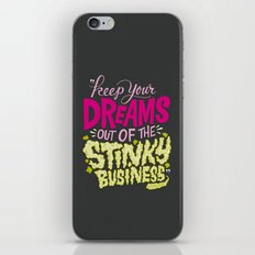 Stinky Business iPhone & iPod Skin