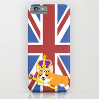 Crown Corgi iPhone 6 Slim Case