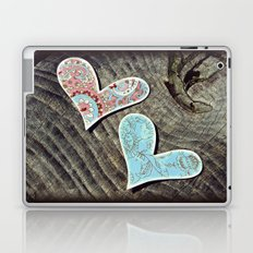 Two Hearts Beat as One Laptop & iPad Skin