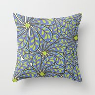 Throw Pillow featuring Blue Spring by Shelly Bremmer