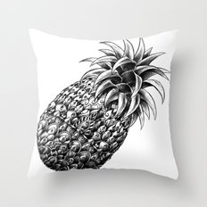 Ornate Pineapple Throw Pillow
