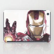 Iron Man Pen Drawing iPad Case