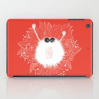 Live, Laugh, and Love..  iPad Case