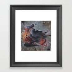 A Pigeon's Progress Framed Art Print