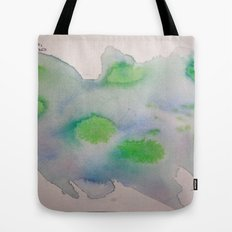 Lime Burst Tote Bag