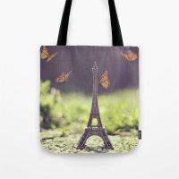 Eiffel Tower Tote Bag