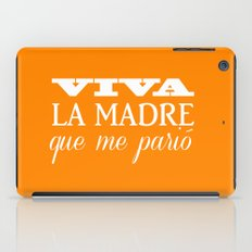 Viva mi madre! iPad Case