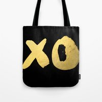 XO Black Tote Bag