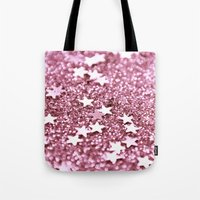 radiant orchid stars Tote Bag