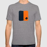 Marshmallow Deathstroke Mens Fitted Tee Tri-Grey SMALL