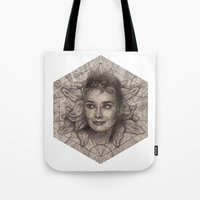 Audrey Hepburn Dot Work … Tote Bag