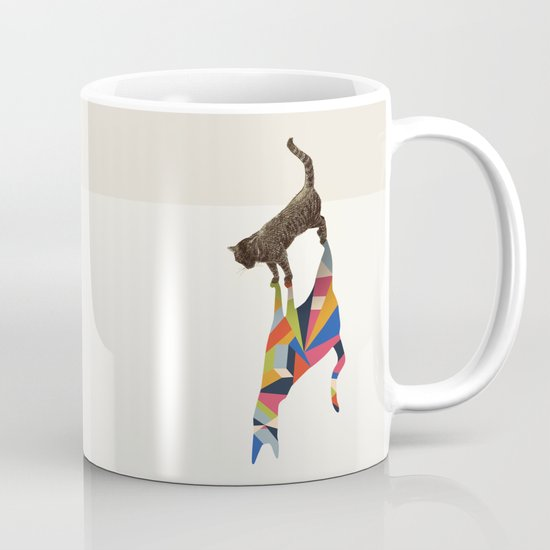 Walking Shadow, Cat Mug