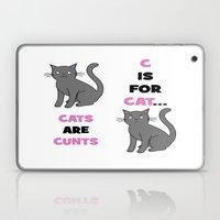 C Is For Cat... Laptop & iPad Skin