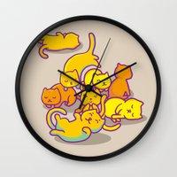 cats ! Wall Clock