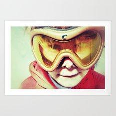 Goldorak Art Print