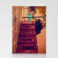 London Night Life  Stationery Cards