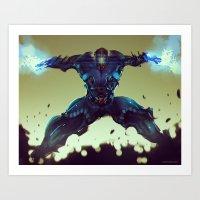 SubZero 00 Art Print
