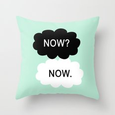 Now Throw Pillow
