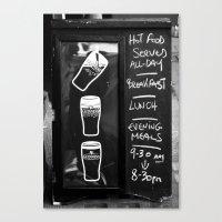 Liquid Lunch Canvas Print