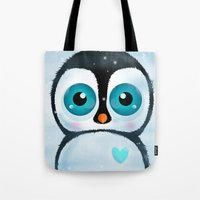Joc the Penguin Tote Bag