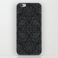 Ab Lace Black and Grey iPhone & iPod Skin