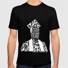 Michael Brown - Black Lives Matter - Series - Black Voices Mens Fitted Tee Black SMALL