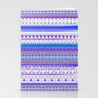 BLUE CHENOA  Stationery Cards