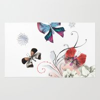 Butterfly Spring Rug