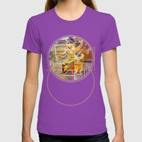 Collateral°Siam^Newz Womens Fitted Tee Ultraviolet SMALL