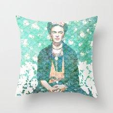 Sueños de Frida Throw Pillow