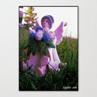 Pixy Violet Canvas Print